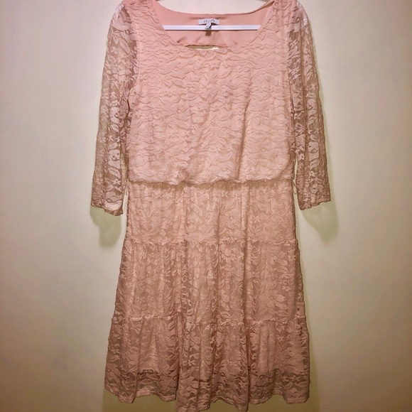 dELiA*s Dresses & Skirts - Lacey Pink Dress